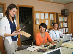 社員が成長するための研修や勉強は積極的に行っています。